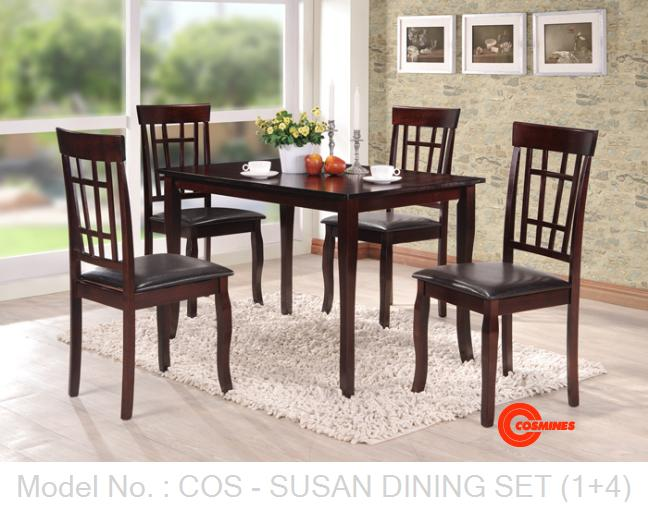 COS - SUSAN DINING SET (1+4)